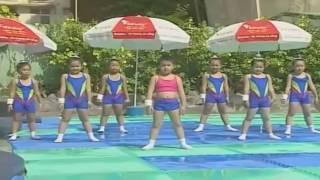 Bé tập thể dục buổi sáng-Liên khúc nhạc thiếu nhi remix