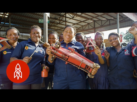 Nigeria's First Female Car Mechanic Is Changing the World