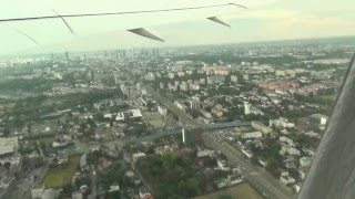 Lot Dreamlinerem z Warszawy do Pekinu (HD). Start samolotu, lot i lądowanie w Pekinie.