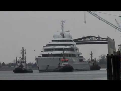 Launch of Superyacht Azzam