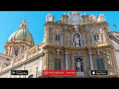 Quattro Canti – Presentazione – Palermo – Audioguida – MyWoWo Travel App