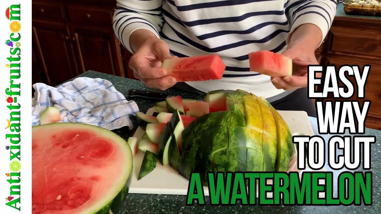 🍉 Best Way of How to Cut a Watermelon 🍉  Watermelon Hack