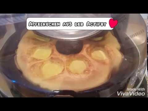 Schneller Apfelkuchen Aus Der Tefal Actifry 2 In 1