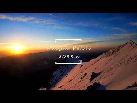 SUMMITING HUAYNA POTOSI - Backpacking Bolivia