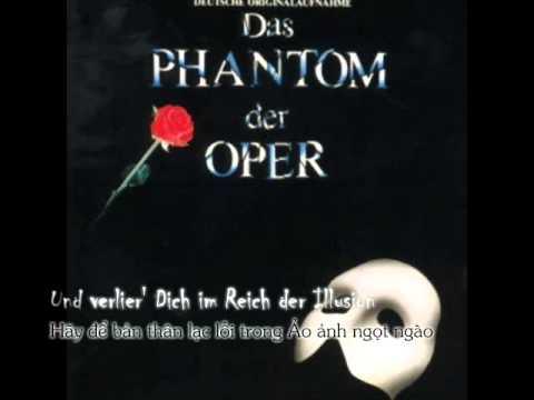 [Lyric + Vietsub] Die Musik der Dunkelheit - Das Phantom der Oper