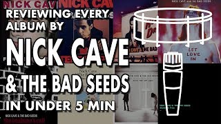 Gambar cover DEEP DISCOG DIVE: Nick Cave and the Bad Seeds