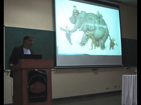 sanjay Deshpande presentation  About Green Buildings at Pune University