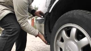 Как снять Бампер AUDI a6 c4(Видео о том как снять задний бампер с защелок ), 2013-11-17T09:30:46.000Z)