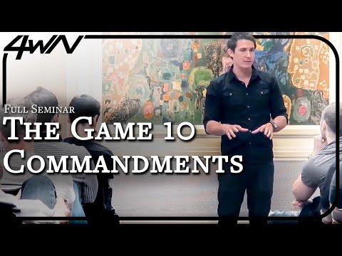 Alex's Ten Commandments Of Natural Game [Director's Cut Edition]