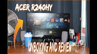 Acer R240HY Monitor: Review and Unboxing