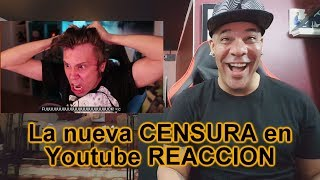 La nueva CENSURA en Youtube ElrubiusOMG REACTION!!!