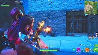 1vs1 against a big rage who plays keyboard mouse! FORTNITE Battle Royale