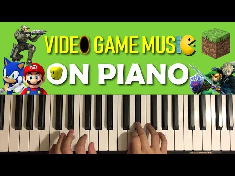 Evolution of Video Game Music on Piano (1980 - 2018)