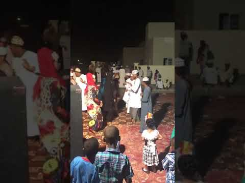 Omani Girls Dancing On Wedding