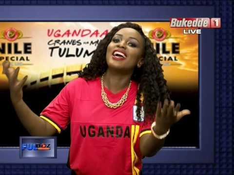 Leila Kayondo presenting FullDoz