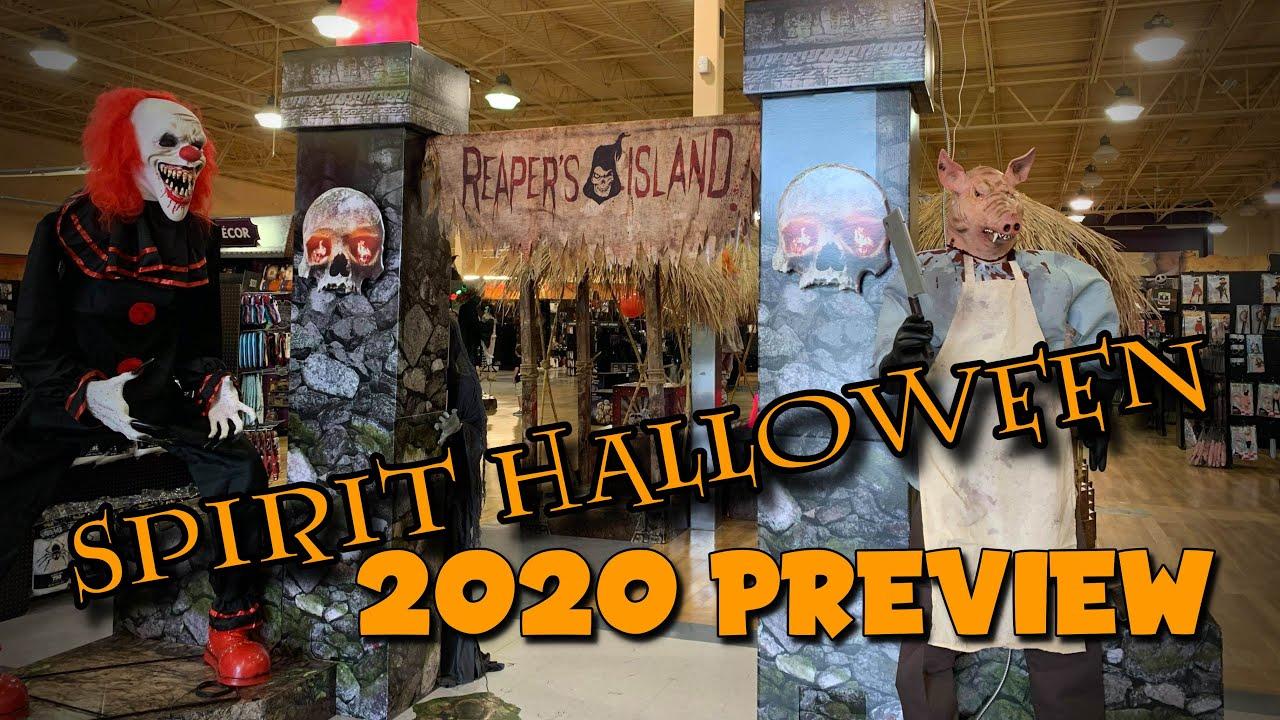 2020 Spirit Halloween Mobile Al Spirit Halloween 2020 | New Animatronics and Store Display   YouTube