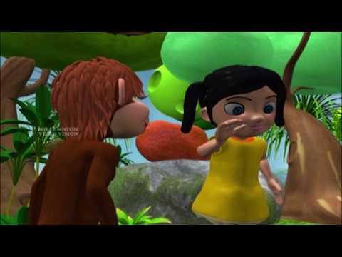 Manikkutty | പൂച്ചക്കാരു മണികെട്ടും | മണിക്കുട്ടി | Malayalam Latest Kids Animation Song