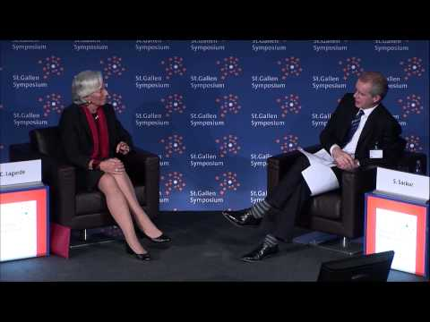 One-on-One: An Investigative Interview with Christine Lagarde - 43th St. Gallen Symposium