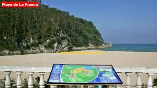 Playas Asturias: Playa de La Franca