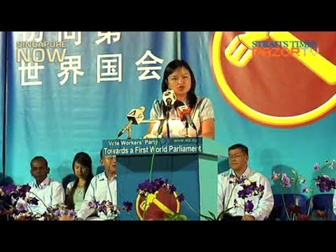 Workers' Party Rally @ Hougang (Part 1)