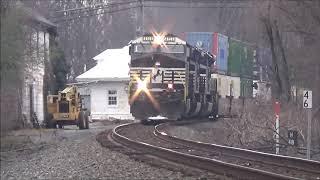 Leap Day Railfanning at Boyce, VA