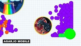 EPIC REVENGE ON SAVAGES! (Agar.io Mobile Gameplay!)