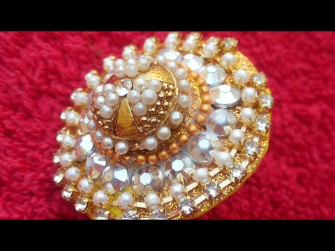 Beautiful HomeMade Ring || How To Ring At Home || Eid Special || Step By Step