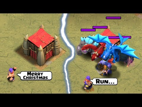 ULTIMATE Clash Of Clans Funny Moments Montage  Christmas 2018 Special  