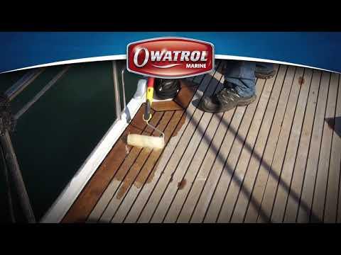 Owatrol D1Deks Olje Marine Hardwood Decking Wood Treatment Oil