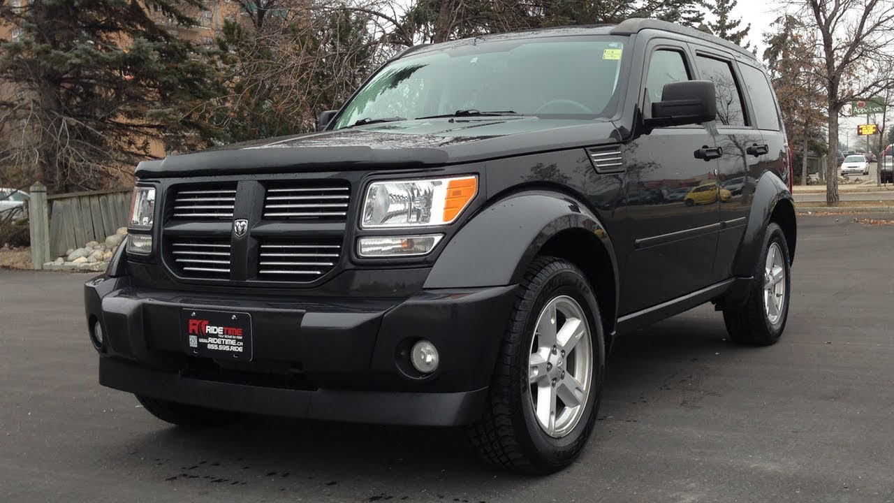 2010 dodge nitro sxt winnipeg mb 4x4 dvd tow package youtube. Black Bedroom Furniture Sets. Home Design Ideas