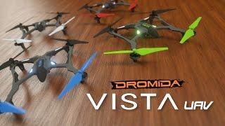 Dromida Vista UAV Quadcopter Drone RTF Video