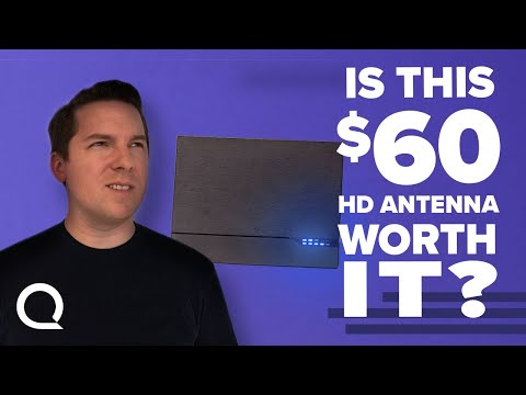 Is A $60 Dollar Antenna Actually Worth $60? | GE UltraPro Review