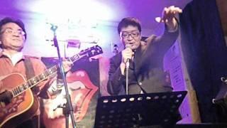 2012年2月1日 とよぴ~ が 涙の太陽 (安西マリア)を 唄っていま...