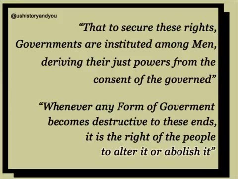 Declaration of Independence, United States