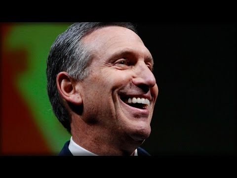 STARBUCKS CEO RELUCTANTLY ENDORSES HILLARY CLINTON