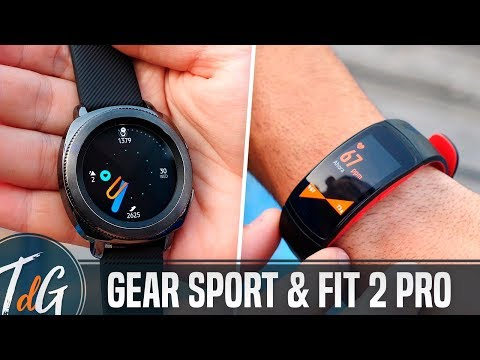 Samsung Gear Sport y Gear Fit 2 Pro, primeras impresiones #IFA17