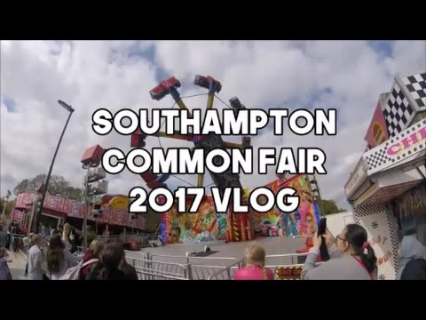 Southampton Easter Funfair April 13th 2017 - Opening day, Southampton common