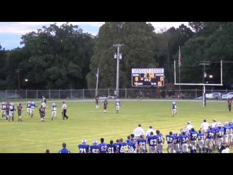 13 Year old Ben Schofield Throws A TD Pass On The Run