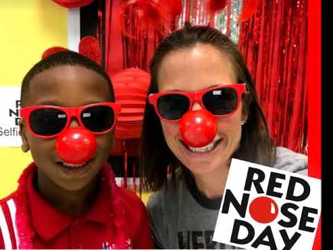 Harmony School of Innovation Euless Red Nose Day 2018