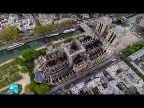 كيف أضحت كاتدرائية نوتردام في باريس بعد الحريق؟