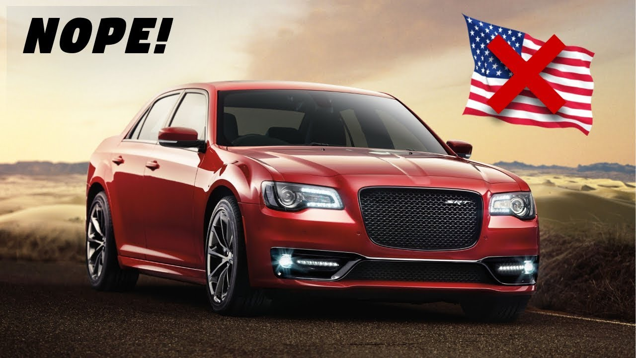 2018 Chrysler 300 Srt Why America Doesn T Get This Model Youtube