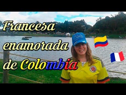 Francesa enamorada de Colombia y de los colombianos, nos explica porque / subtitles in english/frenc