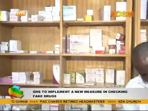 Ghana Health Service New Measure of Checking Fake Drugs