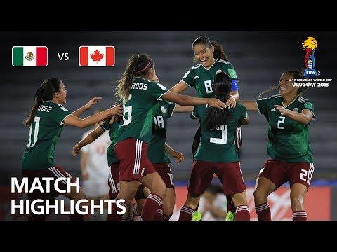 Mexico v Canada - FIFA U-17 Women's World Cup 2018™ - Semi-Final