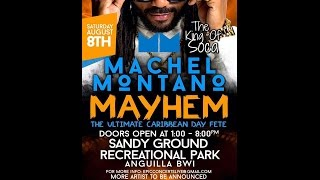 Mayhem in Anguilla part 3 Machel Montano 2015