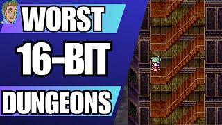 Top 10 Worst JRPG Dungeons - 16 Bit Edition (SNES, Genesis & TG16)