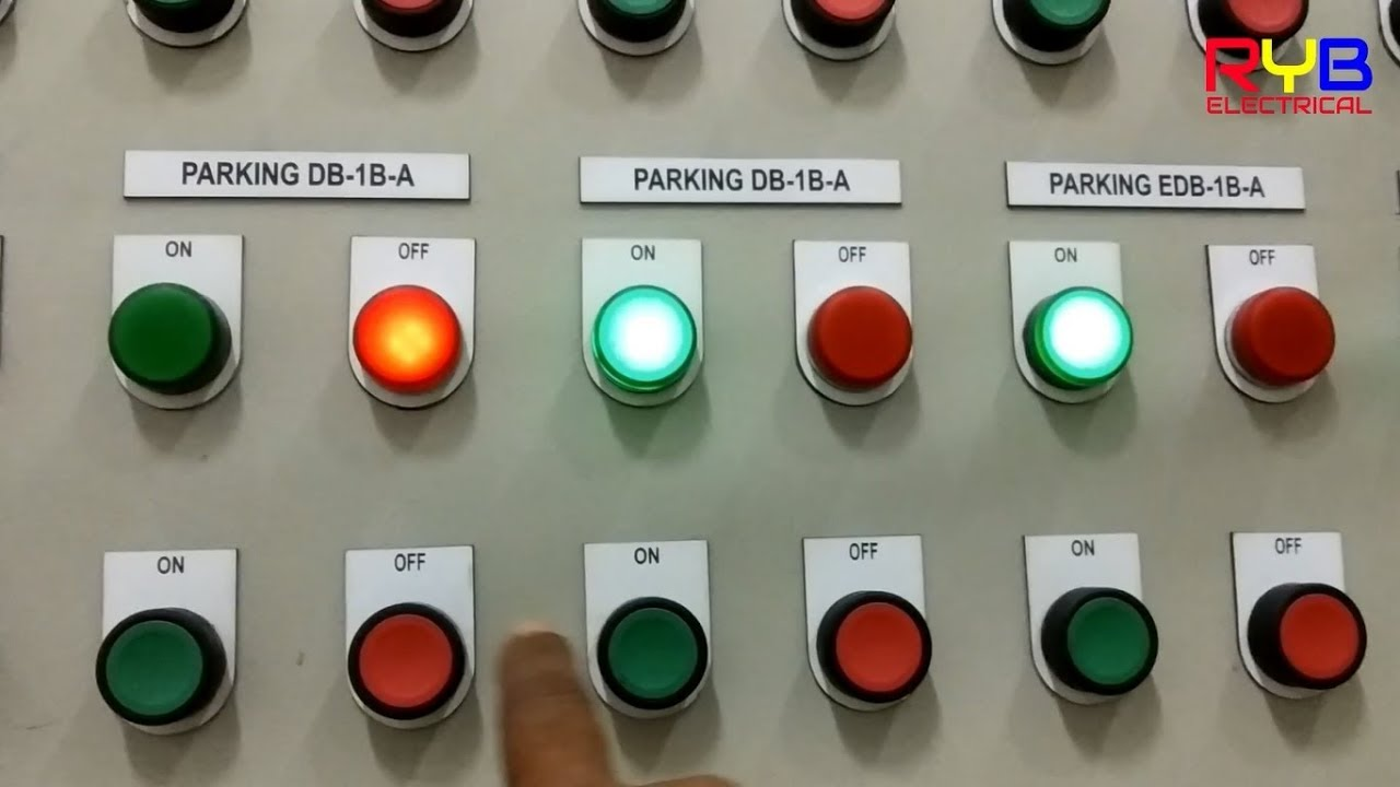 Lcp Lighting Control Panel Using Contactor And Relay