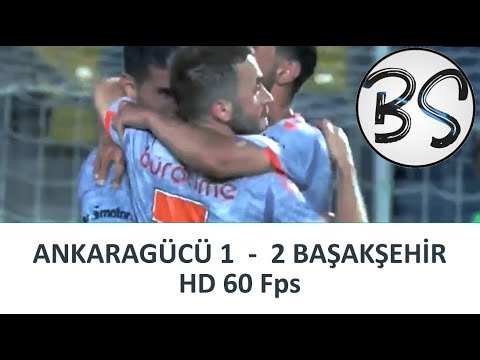 Ankaragücü vs. Başakşehir   Maç Özeti   1080pHD 60Fps