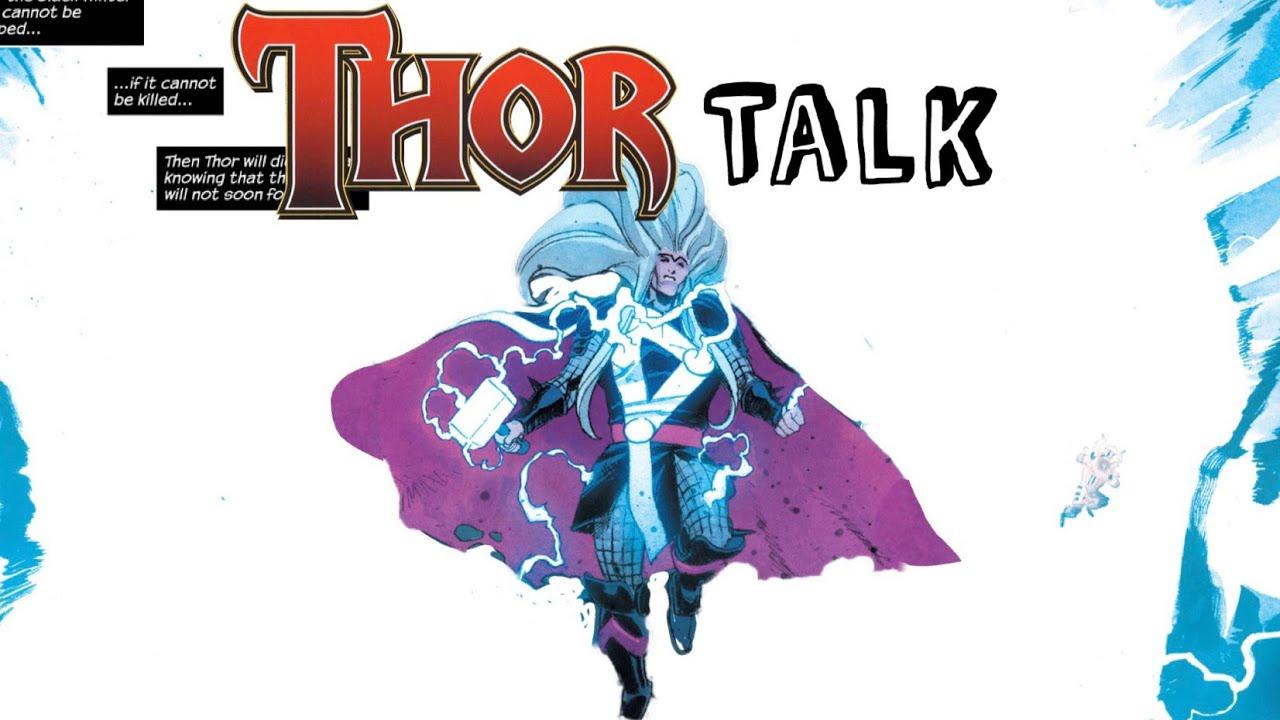 Thor uses the GOD-BLAST against the Black Winter