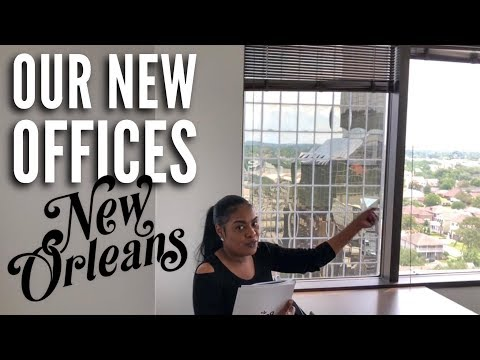 New Office Tour. Best Office Space In New Orleans | #CEOLifestyle Vlog Season 2